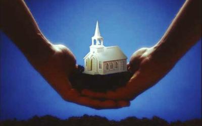 Implantation de l'Eglise de Saint Julien en Genevois