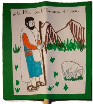 Construis le thomatrope du berger et de la brebis (GIB enfants)