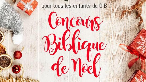 Concours Biblique de Noël
