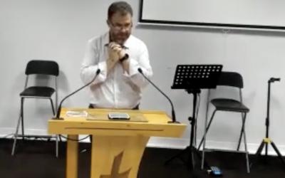 Confiance dans la tempête car il y a une voix dans la tempête