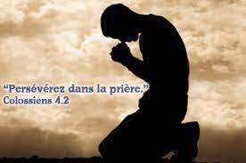 Persévérez dans la prière