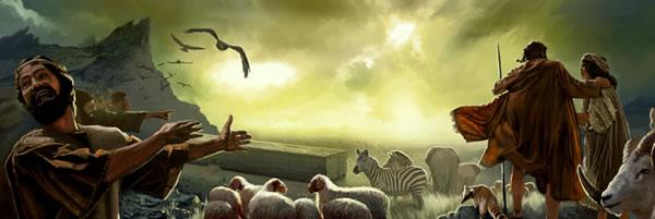 Il en sera de même au temps de Noé et de Lot