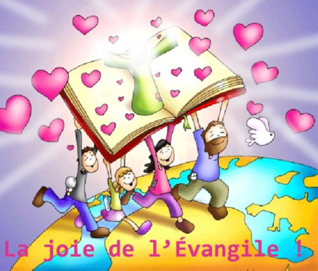 La joie de l'Évangile est pour tout le monde