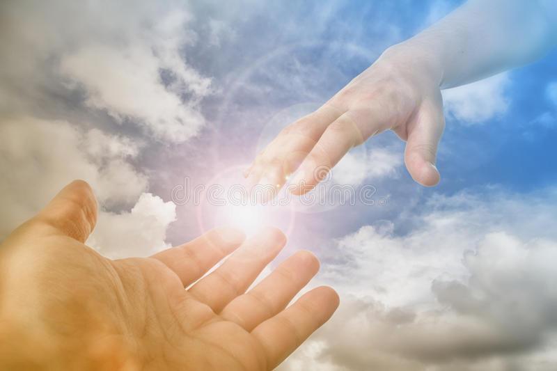 Laisse-toi toucher par la main de Dieu